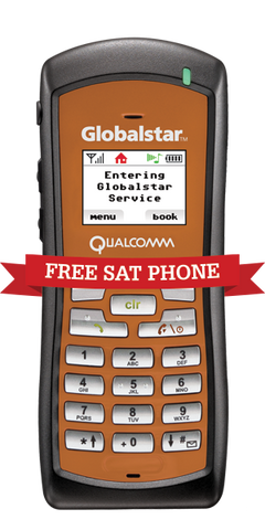 Globalstar 1700 FREE Satphone Offer