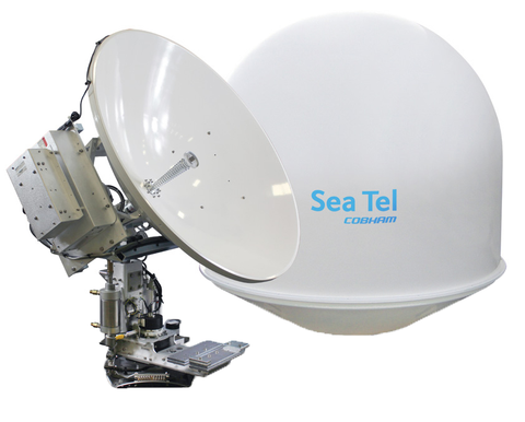 Sea Tel 4009MK3 16 Watt Ku-Band Maritime VSAT