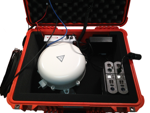 MSAT G2 Flyaway Kit with Battery Backup