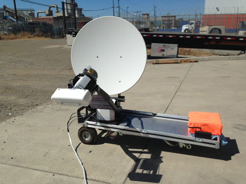 Toughsat XP .98 Meter Flyaway Satellite System
