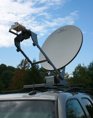 AvL 1258 - 1.2M Low-Stow Vehicle-Mount  DriveAway Mobile VSAT
