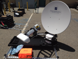 Toughsat SP 1.2 Meter Flyaway Satellite System Rental