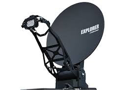 Explorer 8100 1.0 Stabilized, Auto Acquired, Drive-Away Antenna System w/ Scalable BUC option