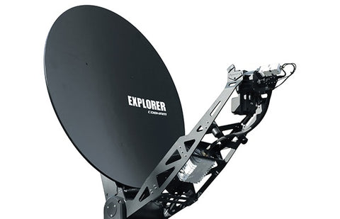 Explorer 8120 1.2 Stabilized, Auto Acquire, Drive-Away Antenna System w/ Scalable BUC options