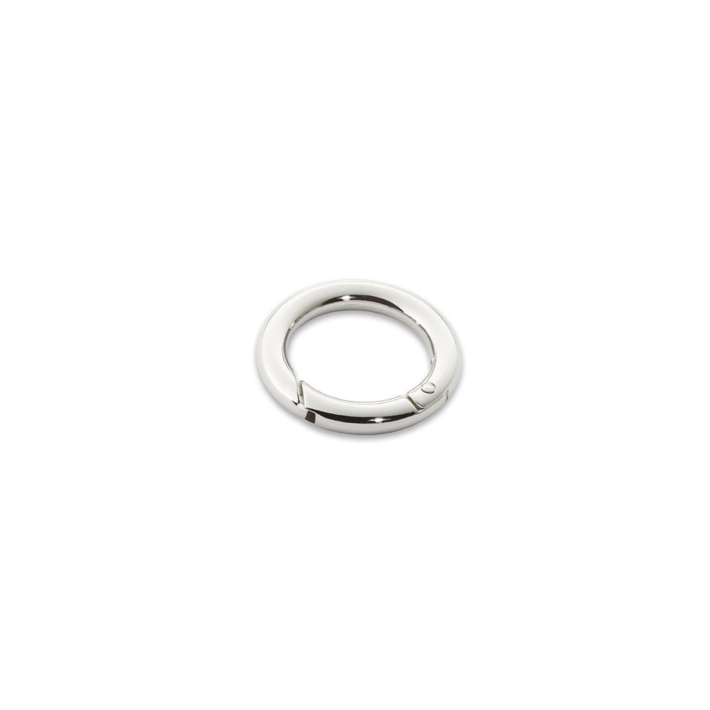 Small Polished Nickel Ring