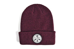 The Mystic - Burgundy/Black