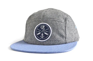 The Beacon - Grey/Blue