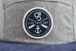 The Beacon - Grey/Navy