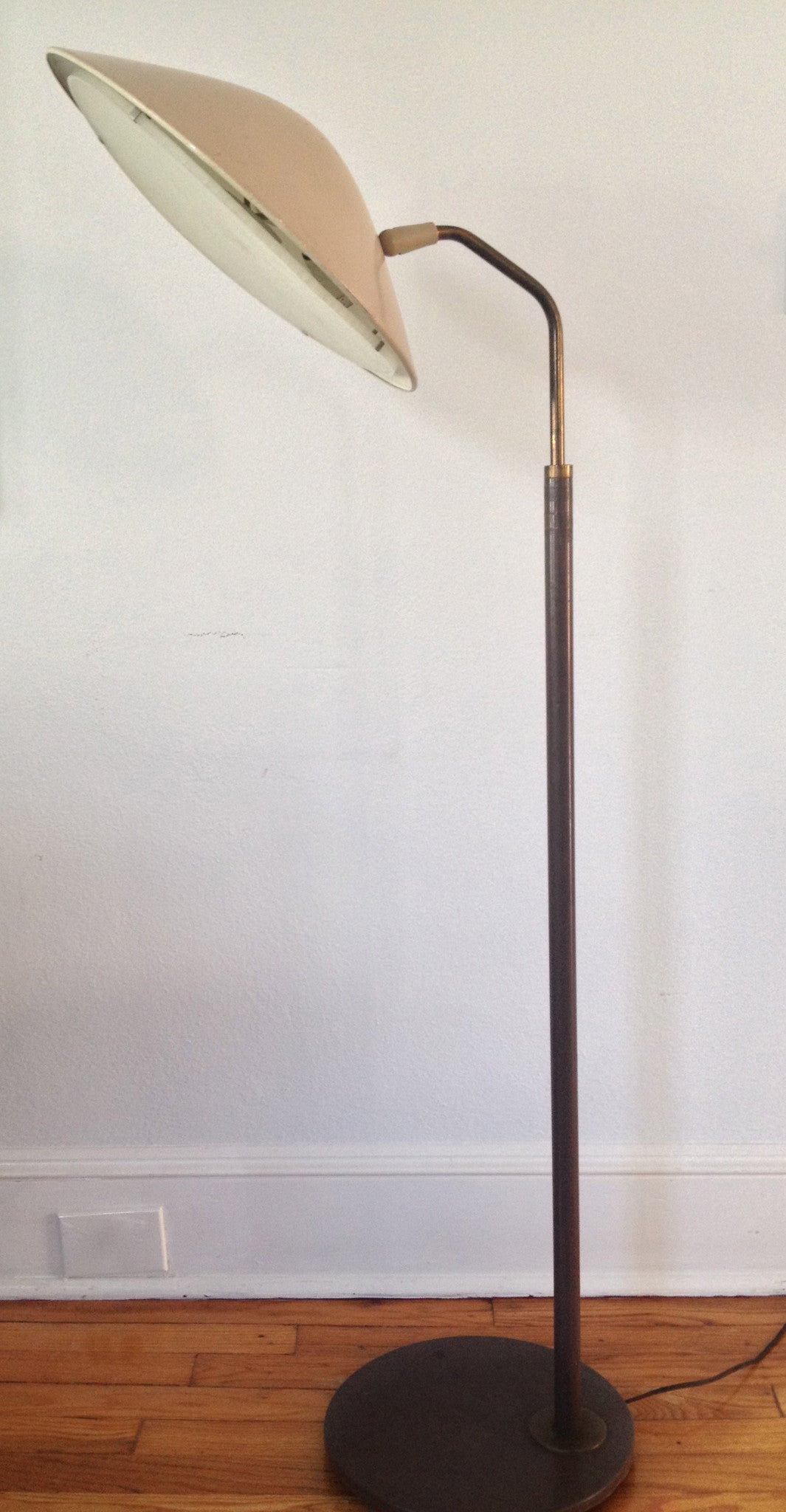 vintage gerald thurston for lightolier floor lamp barefoot dwelling