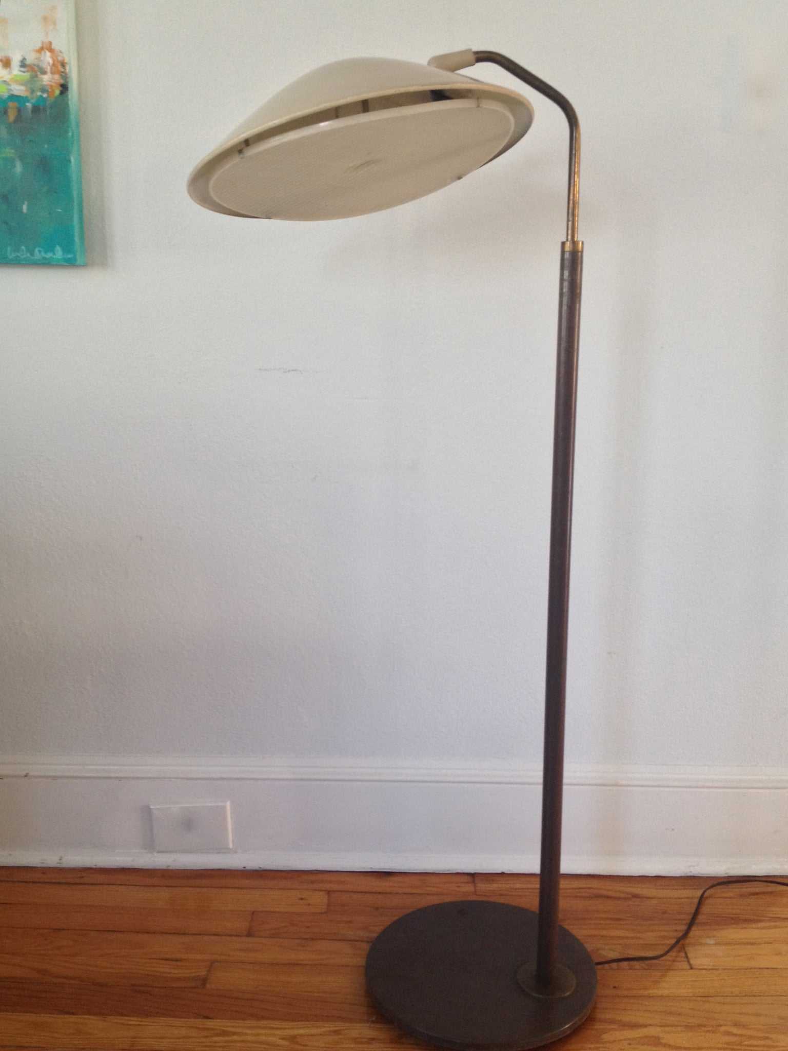 Vintage Gerald Thurston for Lightolier Floor Lamp - Barefoot Dwelling