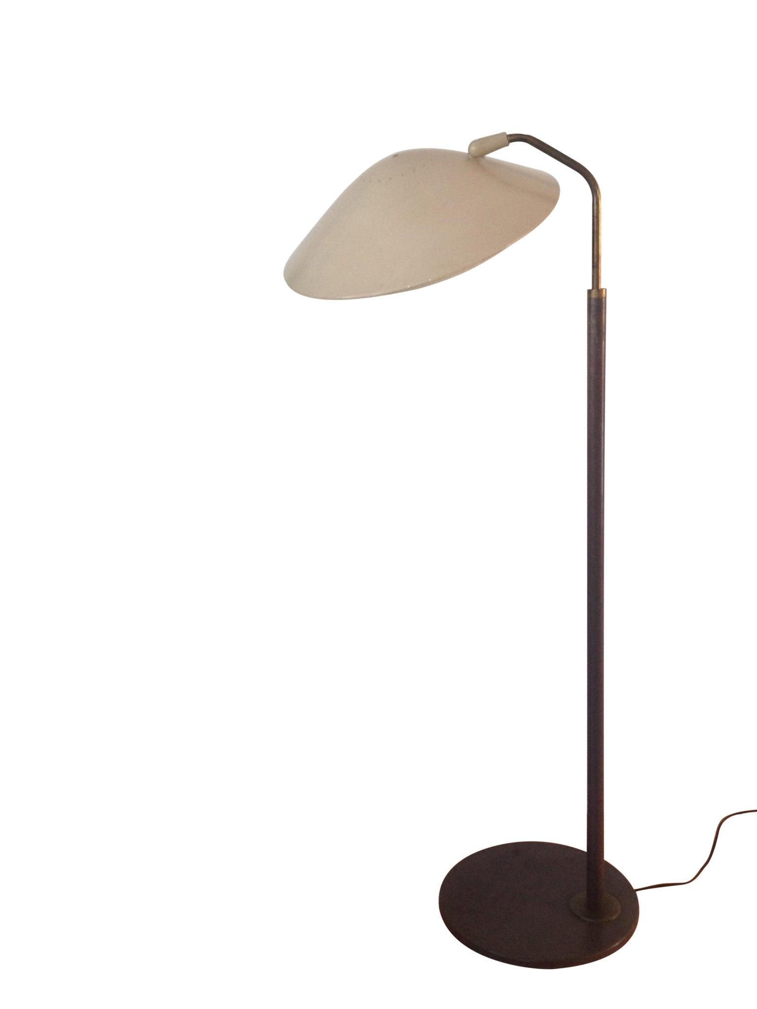 Vintage gerald thurston for lightolier floor lamp barefoot dwelling geotapseo Image collections