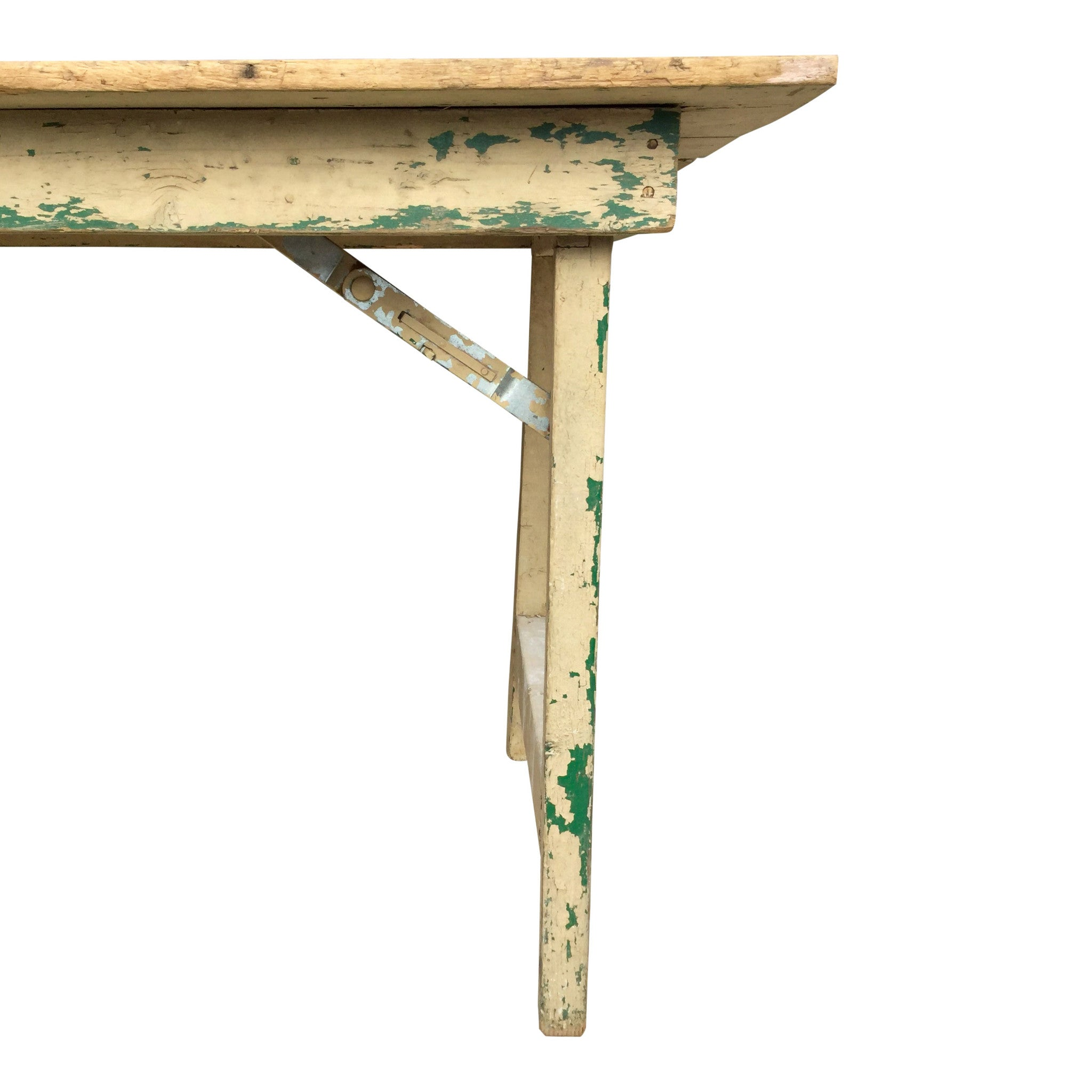 Vintage Folding Farm Table - Barefoot Dwelling