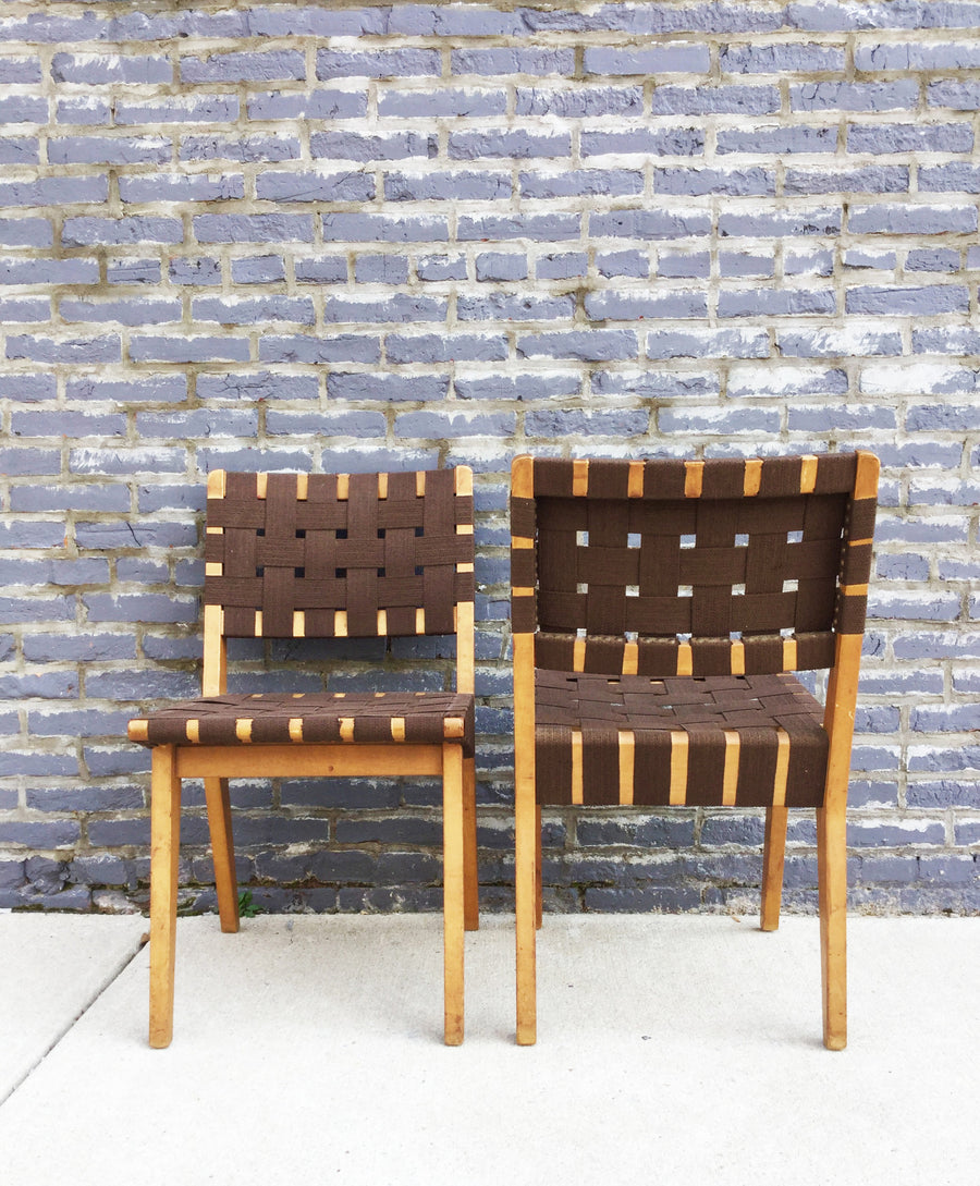 Jen Risom Side Chairs - Barefoot Dwelling