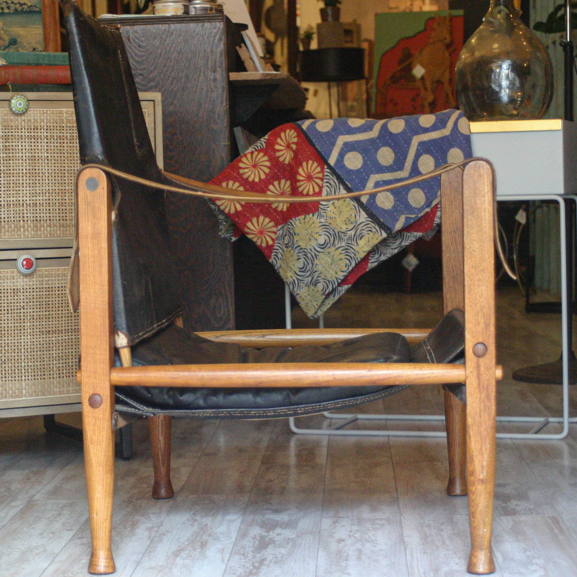 Vintage Safari Chair by Kaare Klint