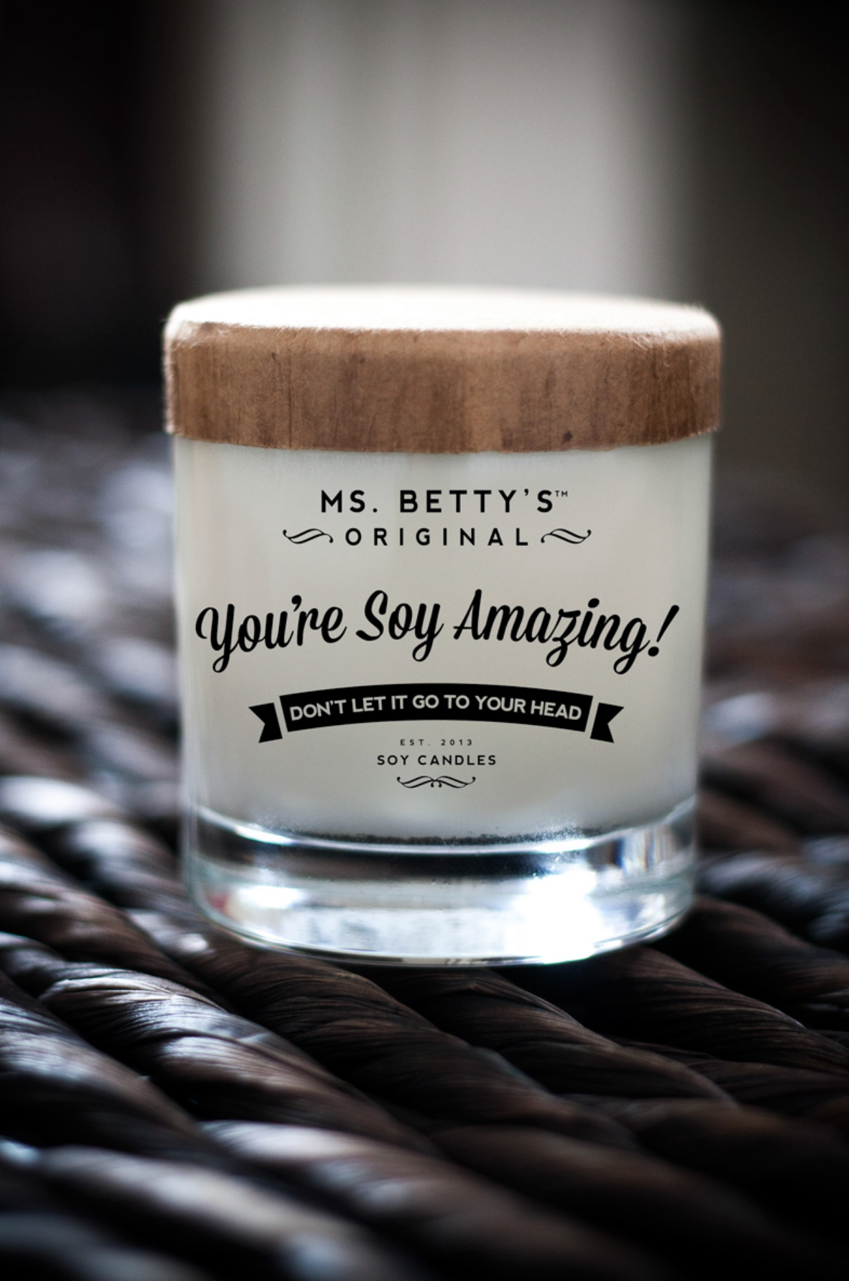 Ms. Betty's Original Bad-Ass Soy Candles
