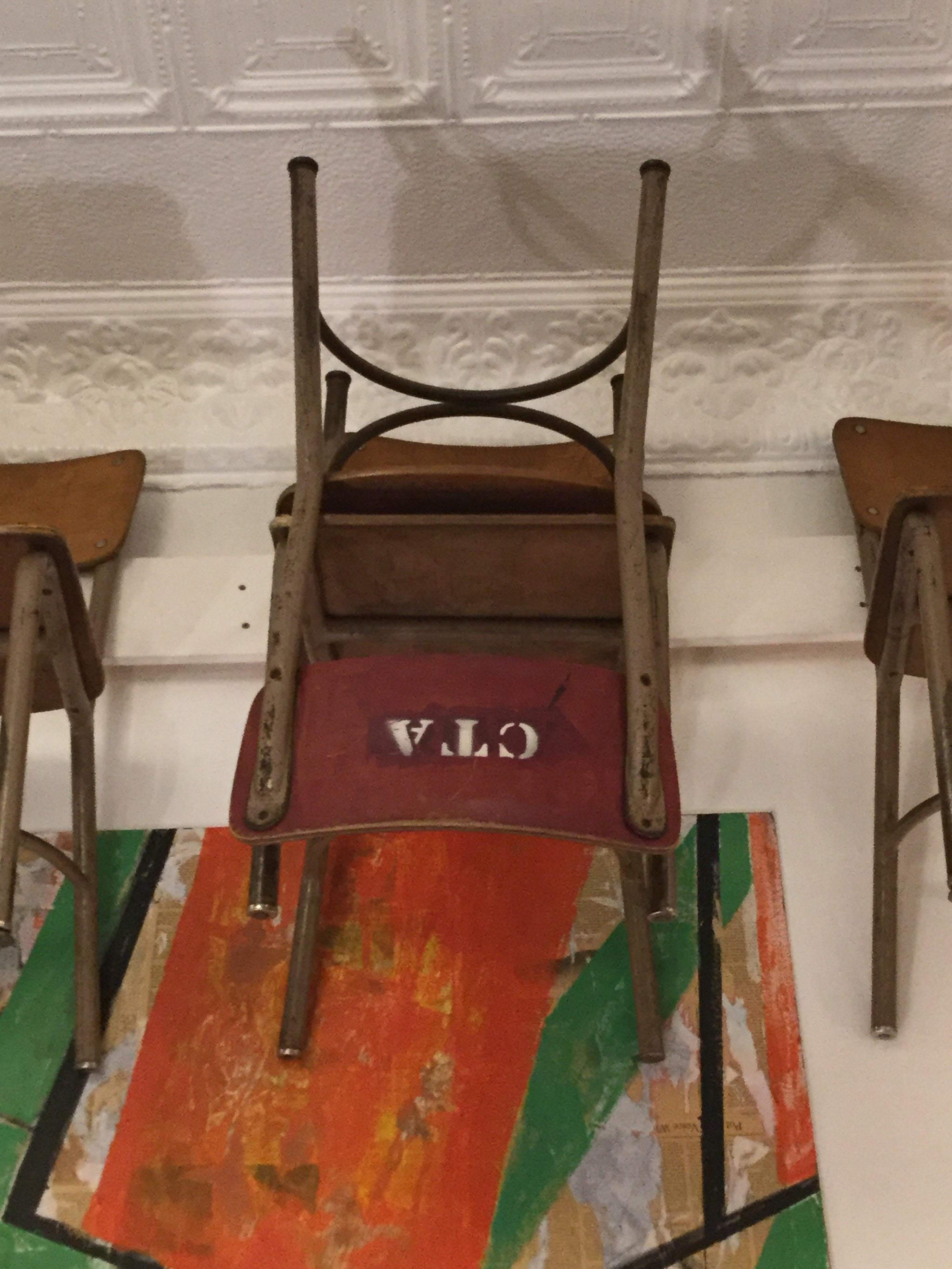 "Vintage ""CTA"" Chair"