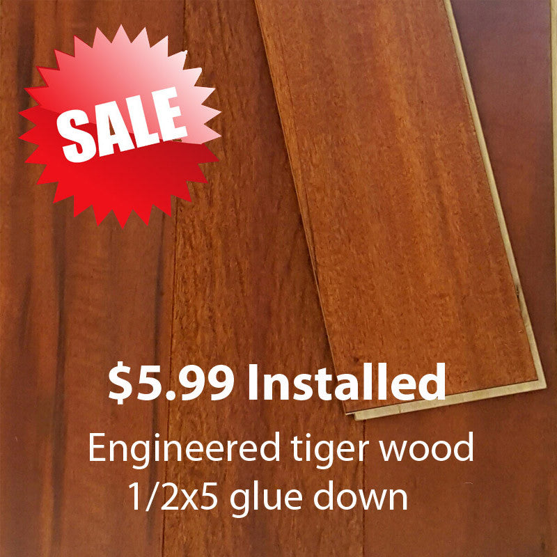 Tigerwood Laminate Flooring