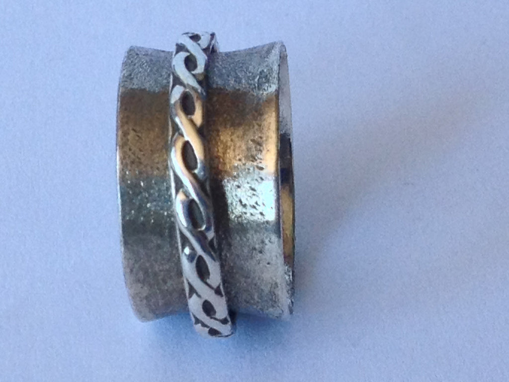 Fidget Braid  Size 8.25 - Radical Metal  - 1