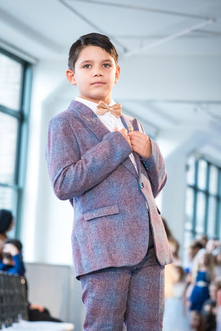 Spring '19 - Angora Boys Tweed Suit
