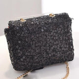 City Glam Sequin Glitz Mini Girls Bag - Gold, Silver, Black, Pink - Angora Boutique - 5