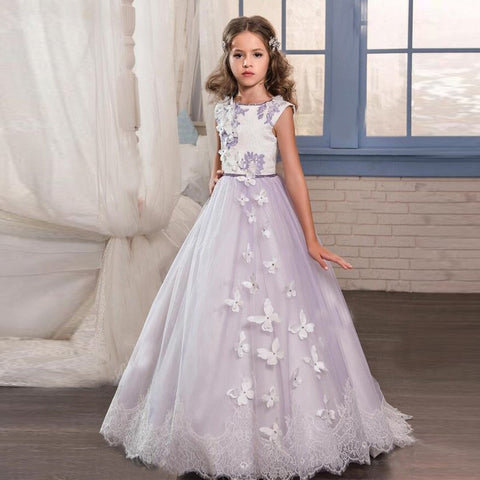 "The ""Butterfly Princess"" Lace Gown Custom - That Girl Couture"