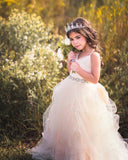 "The ""Giselle"" Tulle and Pearl Bow Dress"