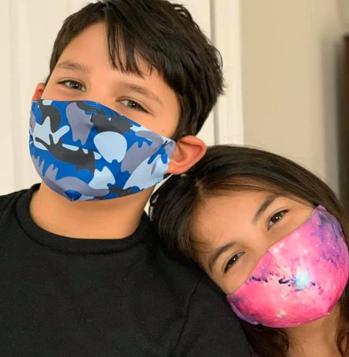 Kids Mask with 5 layer filter - Many styles available