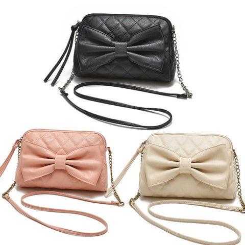 Fashionista Quilted Bow Bag