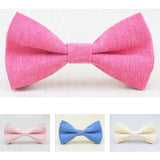 Boys Pastel Cotton Bowties - Angora Boutique - 1