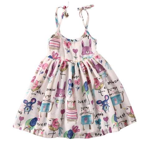 "The ""Petunia"" Spring Toddler + Girls Dress - Angora Boutique - 1"