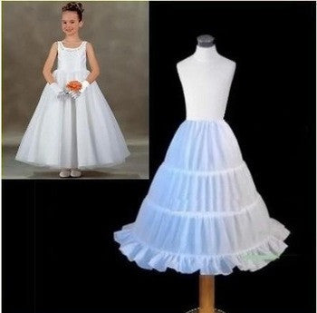 Girls Long Length Petticoat - Angora Boutique