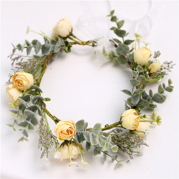Mellow Yellow Spring Flower Crown