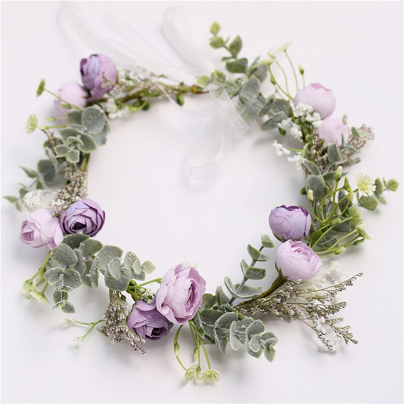 Lovely Lavender Spring Flower Crown