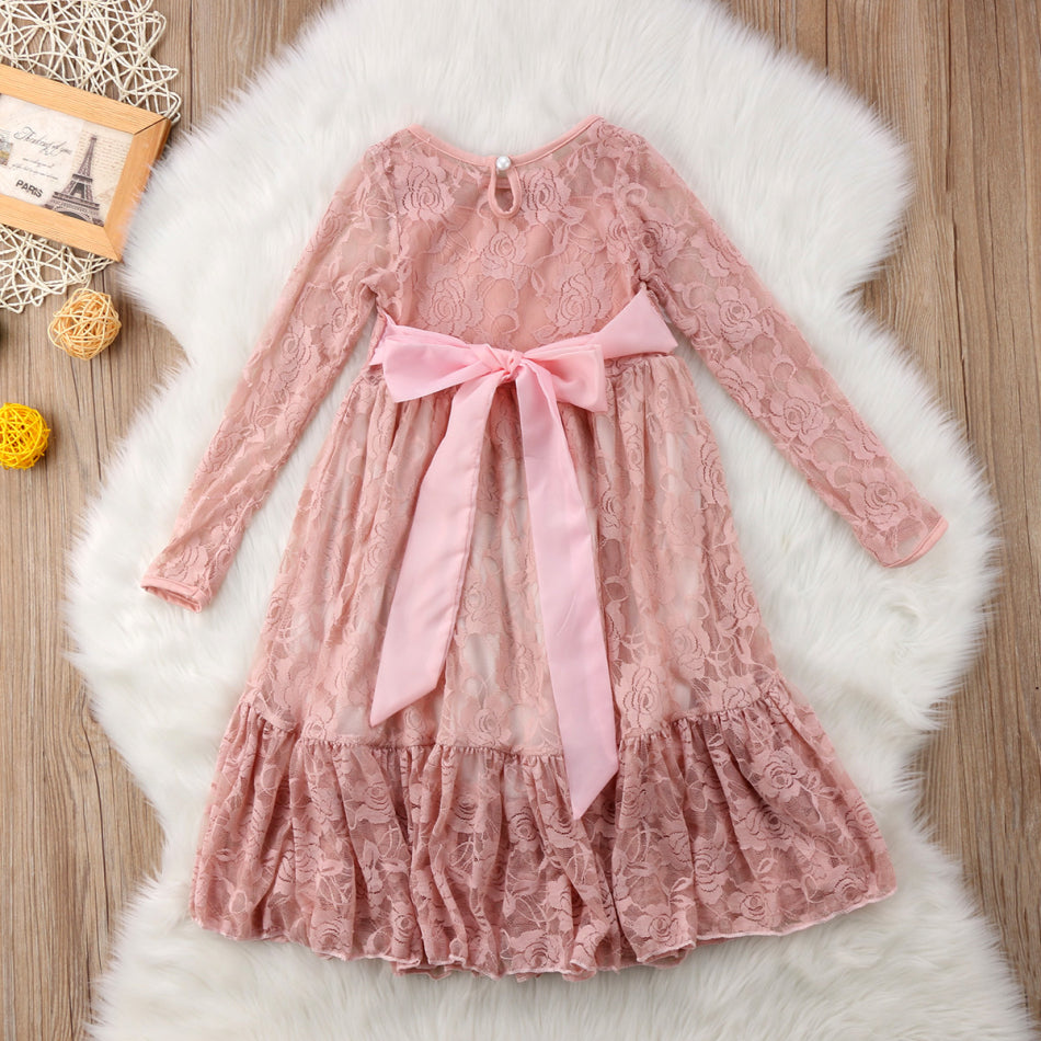 "The ""Madelyn"" Rose Lace Dress"