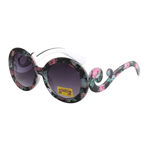 Floral Vintage Inspired Girls Sunglasses - Angora Boutique