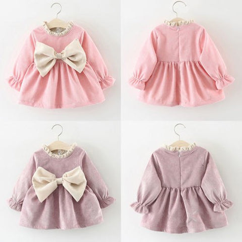 Eloise Corduroy Vintage Baby Dress