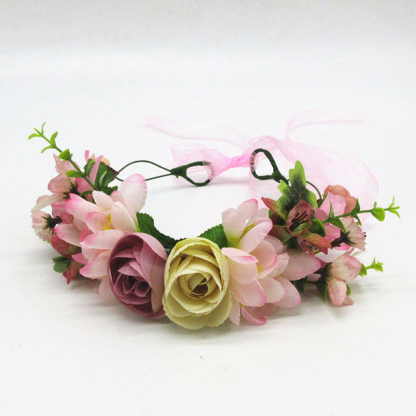 Shades of Beauty - Whimsy Flower Crown - Angora Boutique