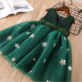 Merry Snowflake Holiday Dress - Fall/Winter 2019 - Green