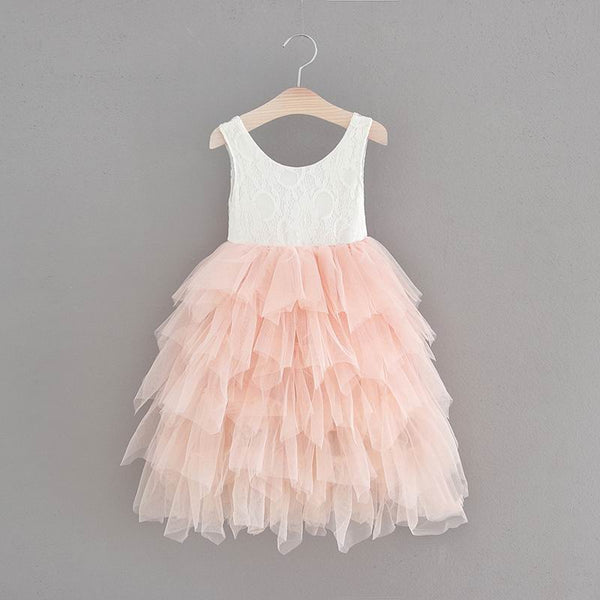 "The ""Lucy"" White Lace Tulle Dress"