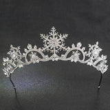 Snowflake Princess Tiara Headpiece