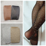 Rhinestone Glam Tights