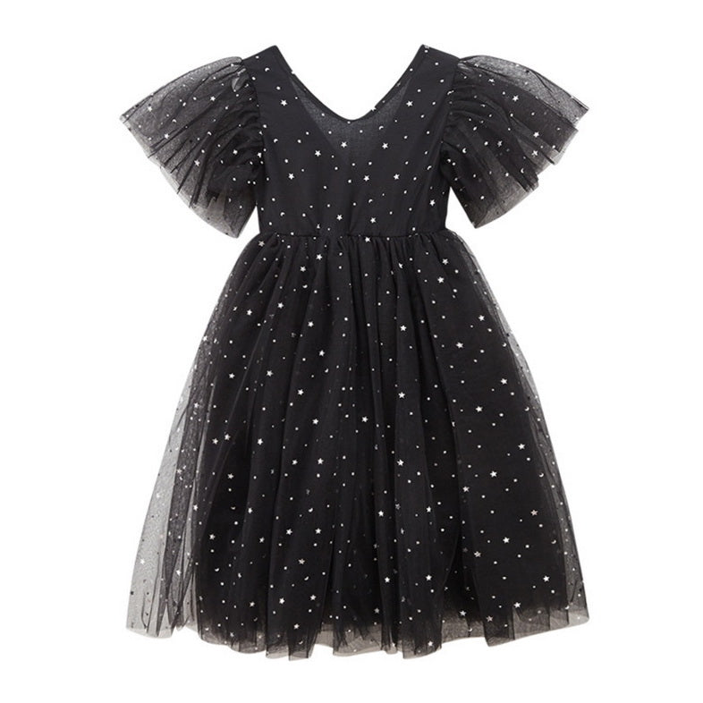Starry Night Girls Dress