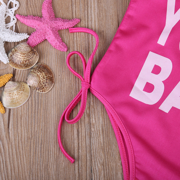 Yummy Baby Hot Pink Swimsuit