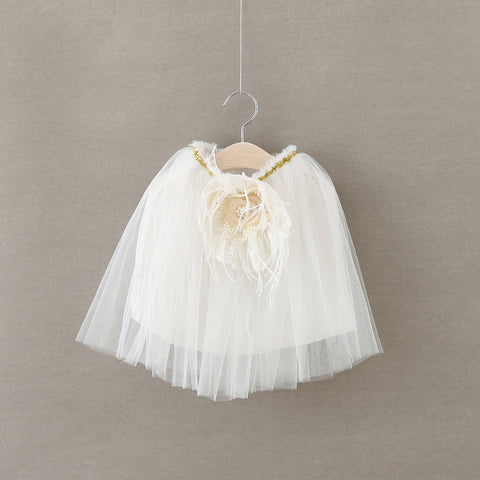 "The ""Alanya"" White Tutu Skirt - Angora Boutique - 1"