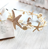 Mermaid Gold Tiara Headband