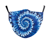 Adult + Kids Mask Tie Dye with 5 layer filter - Many styles available