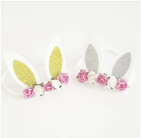 Whimsy Baby Bunny Headbands