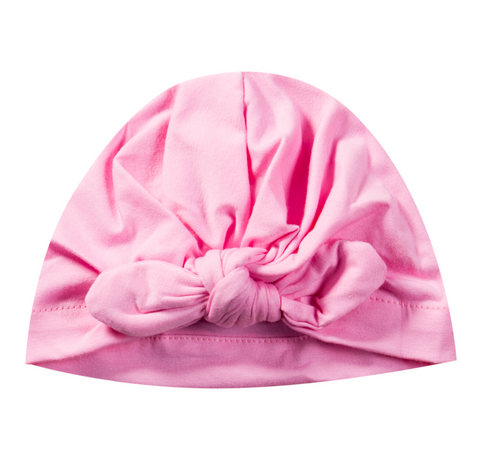 Baby Turban Head Wrap - Baby Pink