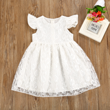 Emma Lace White Dress