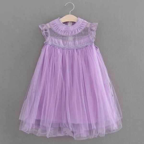"The ""Lilac"" Lace Tulle Dress"
